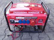 Neuwertiges Stromaggregat mit