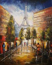 Gemälde auf Leinwand Arcyl 80x100cm