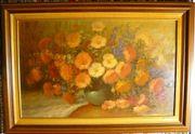 Blumenstilleben, Ölbild 97x67 (