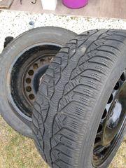 Reifen mit Felgen 205-55-R16