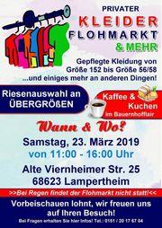 Privater Flohmarkt am Samstag 23