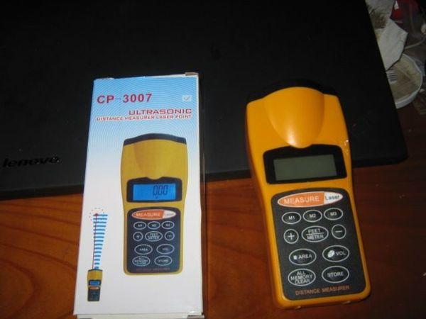 Entfernungsmessung Mit Ultraschall : Q07 ultraschall lcd laser messer distanzmesser lasermessgerät