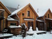Winter-Urlaub im Holz-Ferienhaus