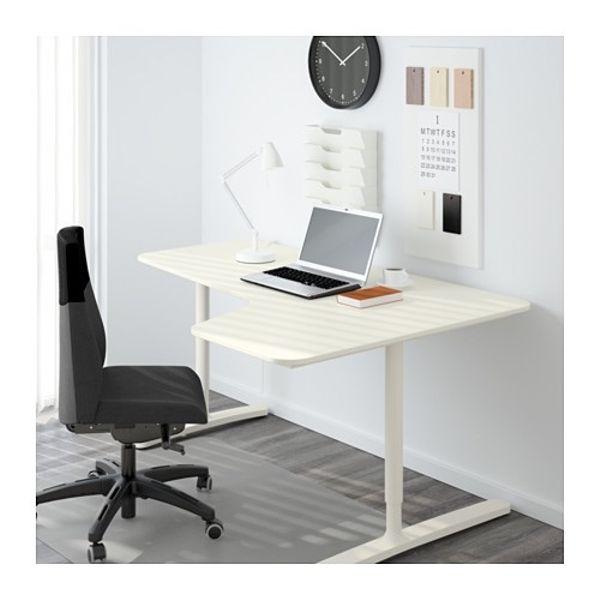 BEKANT Ecktisch rechts - weiß - IKEA in Lampertheim - Büromöbel ...