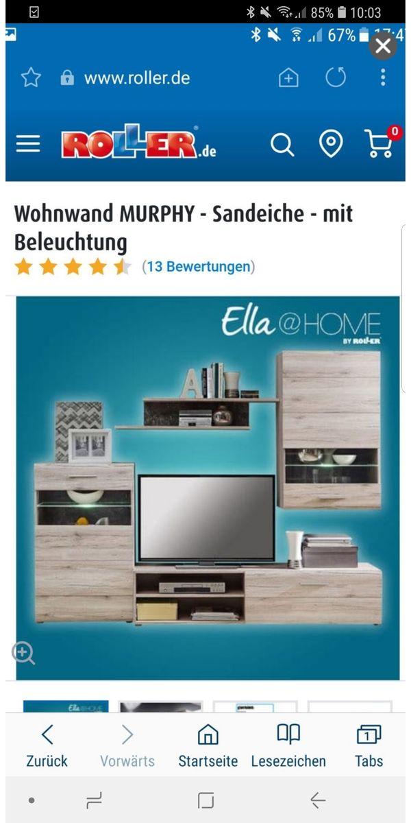 wohnwand in gutem zustand ankauf und verkauf anzeigen. Black Bedroom Furniture Sets. Home Design Ideas
