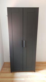Ikea kleiderschrank schwarz weiß  Brimnes Kleiderschrank - Haushalt & Möbel - gebraucht und neu kaufen ...
