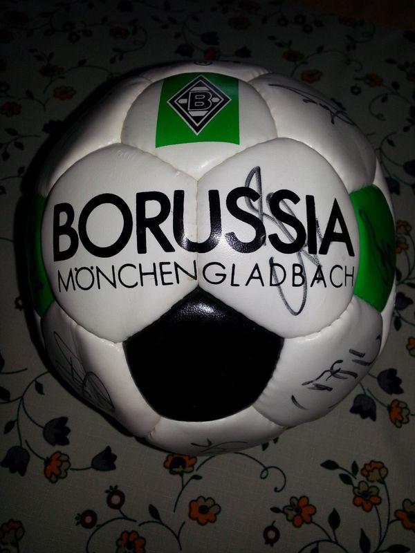 Autogrammball von Borussia » Fußball