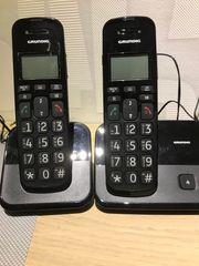 Grundig DS530 Duo Schnurlostelefon-Paar große