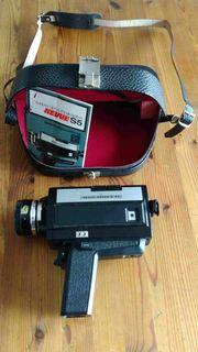 Super 8 Filmkamera und Zubehör