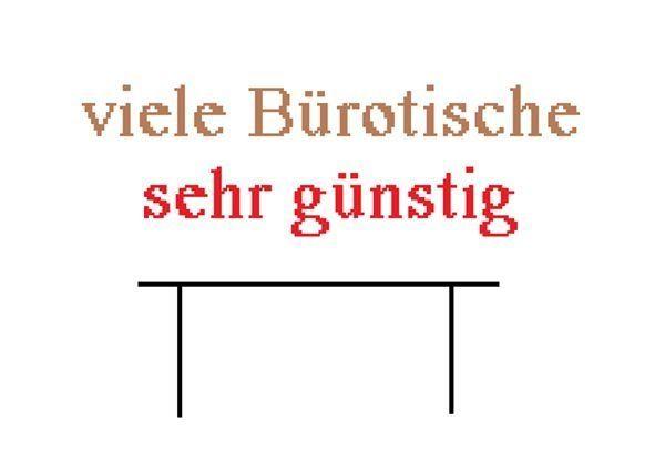 Büromöbel günstig köln  viele sehr günstige Bürotische und Büromöbel in Köln - kaufen und ...