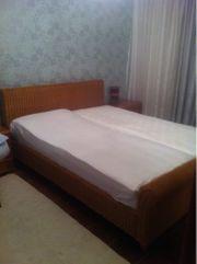 Gepflegtes Doppelbett B: