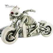 Schlüsselanhänger Motorrat in Knochengerüst Design