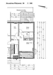 Barrierefreie 3-Zi Wohnung 56qm in