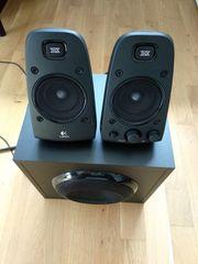 THX-zertifiziertes 2 1 Lautsprechersystem von