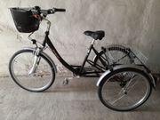Dreirad - Erwachsenen-Dreirad - Lastenfahrrad