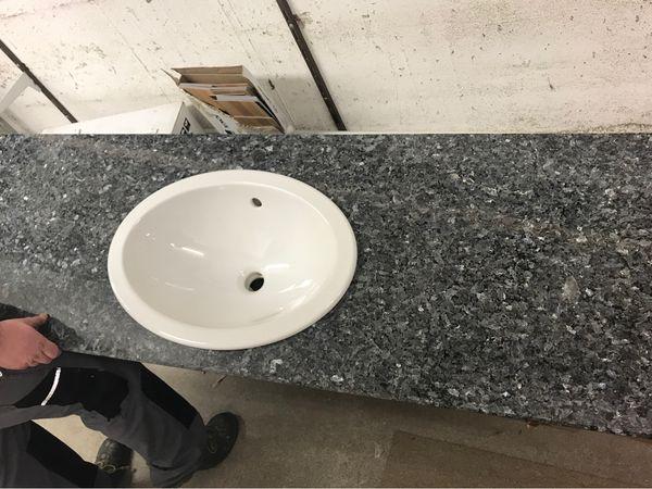 Granitplatte Mit Waschtisch In Maxdorf Bad Einrichtung Und Gerate