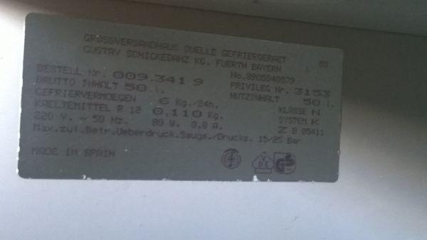 Bosch Kühlschrank 50er Jahre : Kühlschrank 50 ltr. gebraucht 230 volt in aichach kühl und