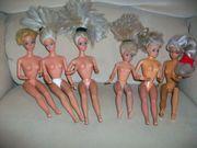 5 Vintage Barbie