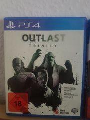 Playstation4 PS4Spiel Outlast Trinity