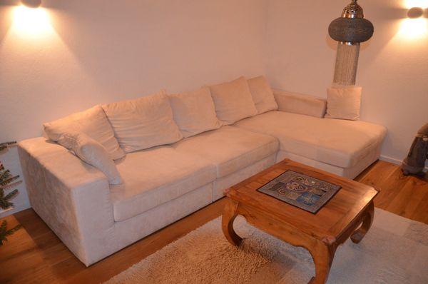 Sofa Couch Wohnlandschaft In Weiss In Iffezheim Polster Sessel