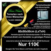 Dendrobaten-Terrarium 80x50x50cm LxTxH Froschterrarium