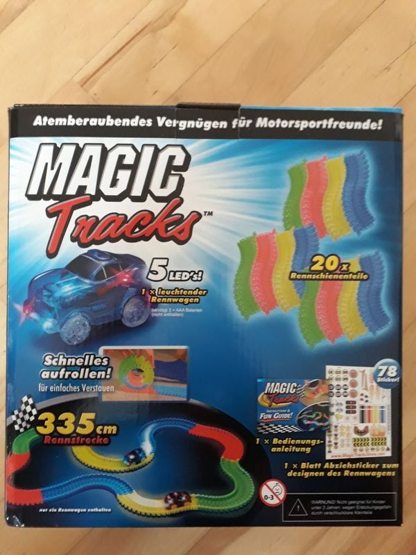 Magic Tracks Rennbahn inkl 1