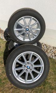 Neuwertige BMW-Felgen mit Sommerreifen 17