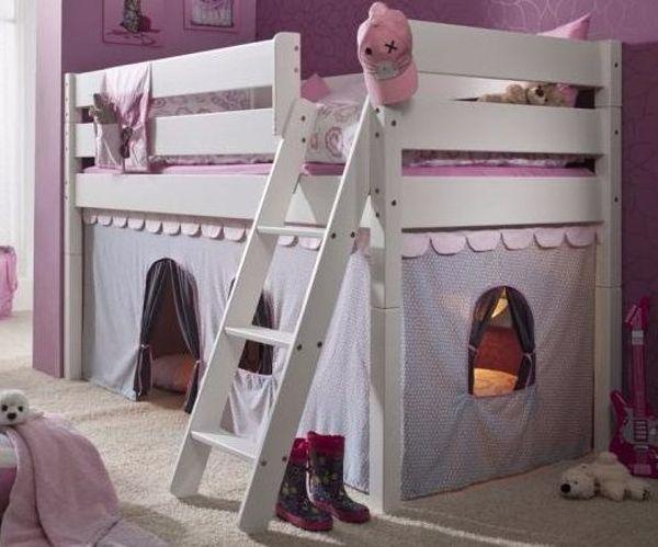 Etagenbett Buche Geölt : Hochbett spielbett vollholz buche weiß in unterföhring kinder
