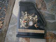 Zither Konzert Salon Harfe BJ