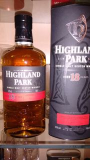 Highland Park 18 Whisky
