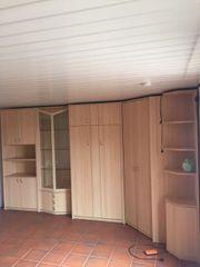 Wohnzimmer Schrank - mit Schrankbett sehr