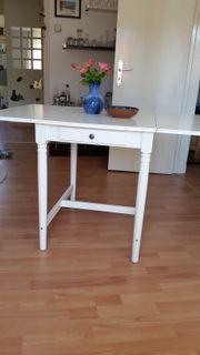 Klapptisch Ingatorp Ikea Weiß