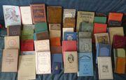 Bücher, alte Bücher,