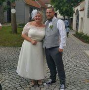Brautkleid, Haarkamm, Brautfächer