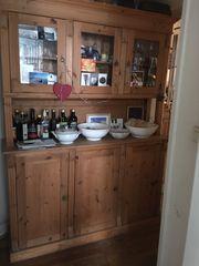 Küchenvitrine Geschirrschrank Küchenschrank Küchenbüffet