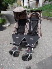 Geschwister- und Zwillingskinderwagen