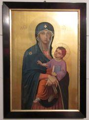Maria Bildnis Ikone,