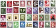 Umfangreiche Briefmarkensammlung sortiert,