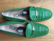 Donna Carolina Slipper grün Gr