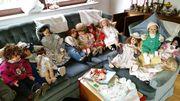 Puppen Porzellan handgemacht