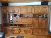 Eiche Wohnzimmerschrank sowie