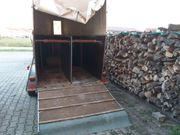 Krämer Holz-Poly 2er Pferdeanhänger Weinachtsangebot