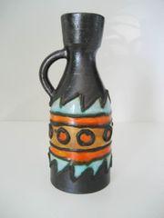 Afrika Deko Kunst Vase Tonvase