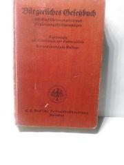 Bürgerliches Gesetzbuch 30er Jahre