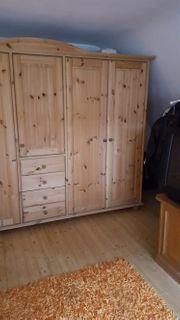 wertiges komplettes schlafzimmer in kiefer