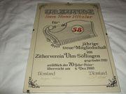Urkunde Hans Hitzler