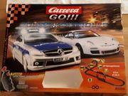 Carrera Go Rennbahn Polizeikontrolle