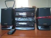 Stereokompaktanlage von Sharp
