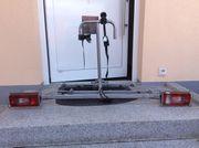 EUFAB Fahrradträger für Anhängerkupplung