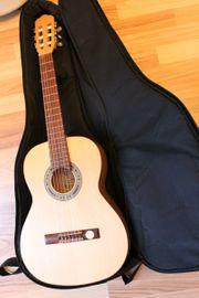 Gitarre 3 4 Akustikgitarre